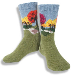 Autumn Road Socks